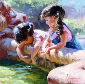important conversation children Vladimir Volegov